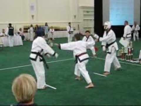 Soo Bahk Do Nationals 2007 - Sparring #03