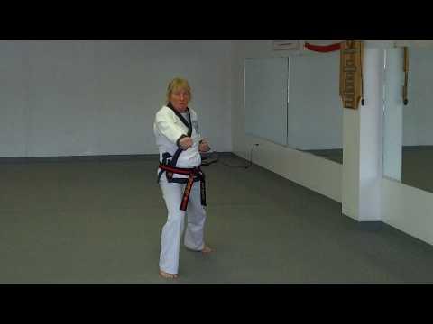 Soo Bahk Do Moo Duk Kwan (Frampton's Karate) - Chil Sung IL Ro Hyung (Ann DuBois)