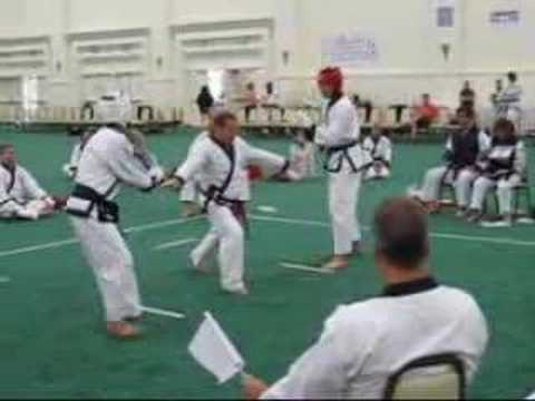 Soo Bahk Do Nationals 2007 - Sparring #18