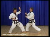 Sparring Combination 4 (Dae Ryun Cho Hap)