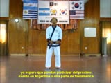 Mensaje Kwan Jang Nim H C Hwang paraa Sudamerica en el KDJ 2014