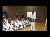 Kwan Jang Nim's 70th training seminar part 1 segment