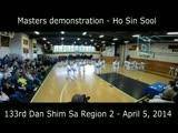 133rd Dan Shim Sa Masters Demo 2014