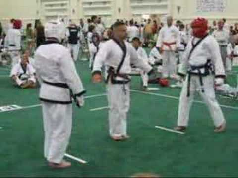 Soo Bahk Do Nationals 2007 - Sparring #05