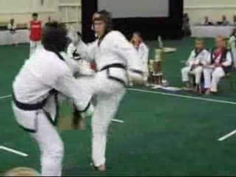 Soo Bahk Do Nationals 2007 - Sparring #10