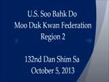 132nd Dan Shim Sa (Region 2)