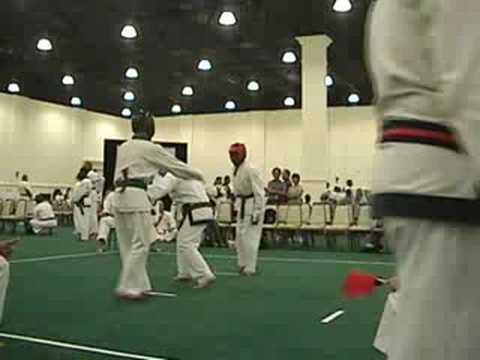 2008 Soo Bahk Do Sparring - Final