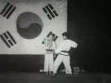 Moo Duk Kwan Demo 1957