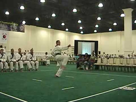 Pyung Ahn Ee Dan - Nationals 2008