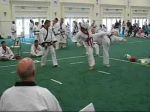 Soo Bahk Do Nationals 2007 - Sparring #01