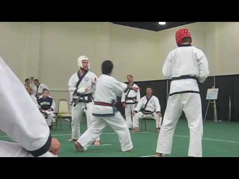 2009 Soo Bahk Do Nationals Sam Dan Men Sparring