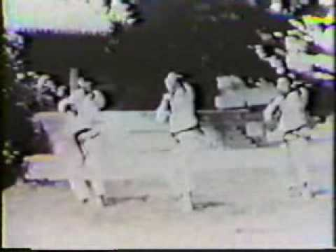 Moo Duk Kwan cirica 1960's Joong Ahn Do jang and Kicho